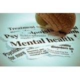 Consultório médico para pessoa depressiva